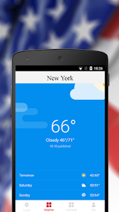 Weather & News for New York - náhled