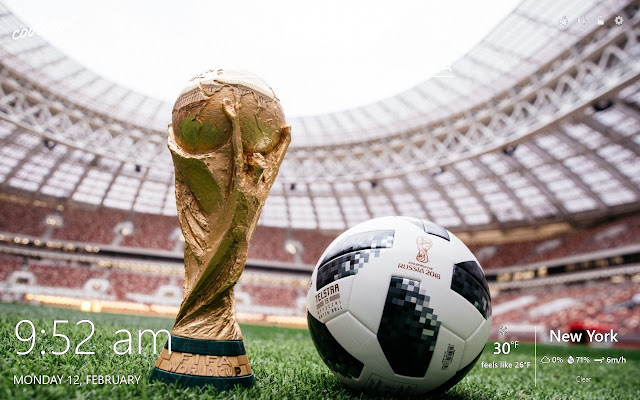 World Cup 2018 Russia HD Wallpapers Theme
