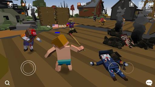 Télécharger Gratuit Pixel Blood Online  APK MOD (Astuce) screenshots 1
