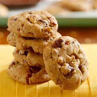 Butter Toffee Chocolate Chip Crunch Cookies.