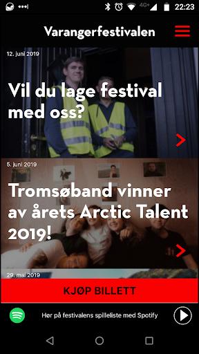 varangerfestivalen 2019 screenshot 1