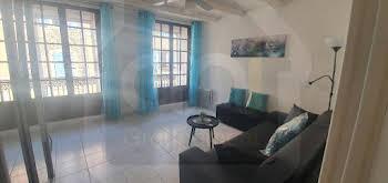 Studio meublé 33,82 m2