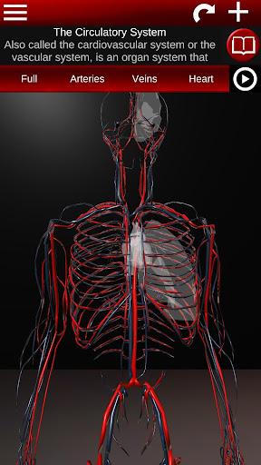 Circulatory System in 3D (Anatomy) 1.58 screenshots 1