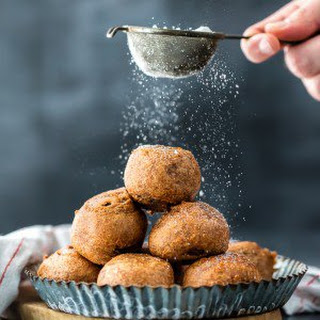 Fried Brownie Truffle Bites