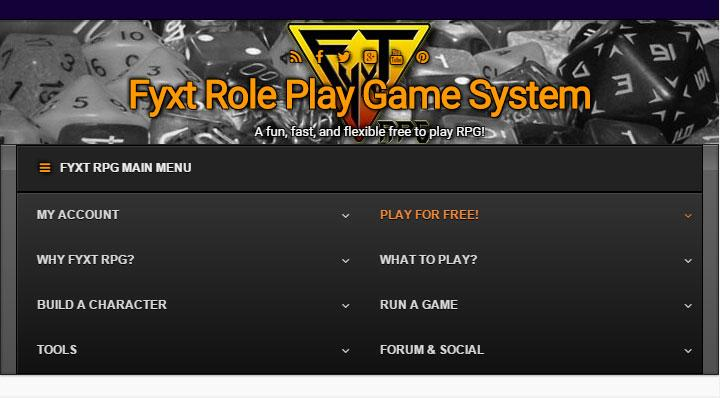 Play the Fyxt RPG for Free- screenshot