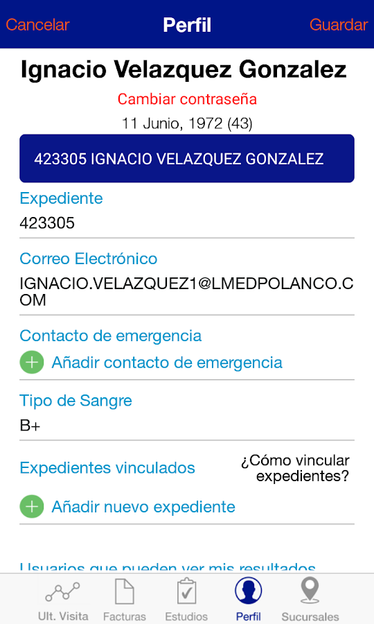 Laboratorio Médico Polanco- screenshot