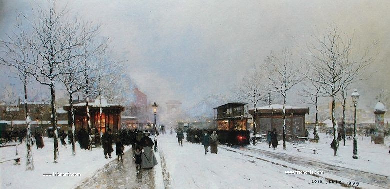 Exceptionnel Édouard Cortès: El poeta parisino de la pintura - TrianartsTrianarts YR55