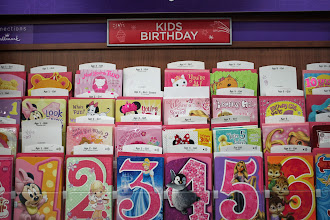 Photo: My kiddos were attracted to the kid cards.