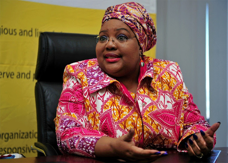 Thoko Mkhwanazi- Xaluva is the chairwoman of the Commission for the Promotion and Protection of the Rights of Cultural, Religious and Linguistic Communities (CLR).
