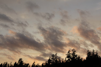 Photo: We get some pretty awesome sunset skies.