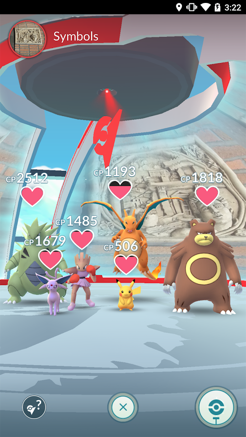 Pokémon GO: screenshot