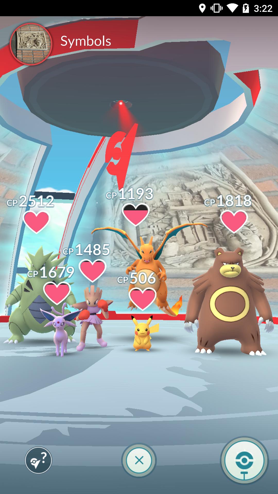 Pokémon GO screenshot #4
