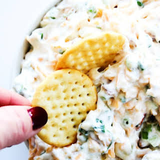 5 Minute Fully Loaded Ranch Dip.