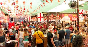 Imagen de archivo de la Feria de Almería 2019.