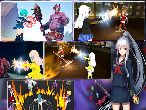 Kawaii Legend: Conquest of Magic RPG Anime Games 1.0.4 screenshots 13