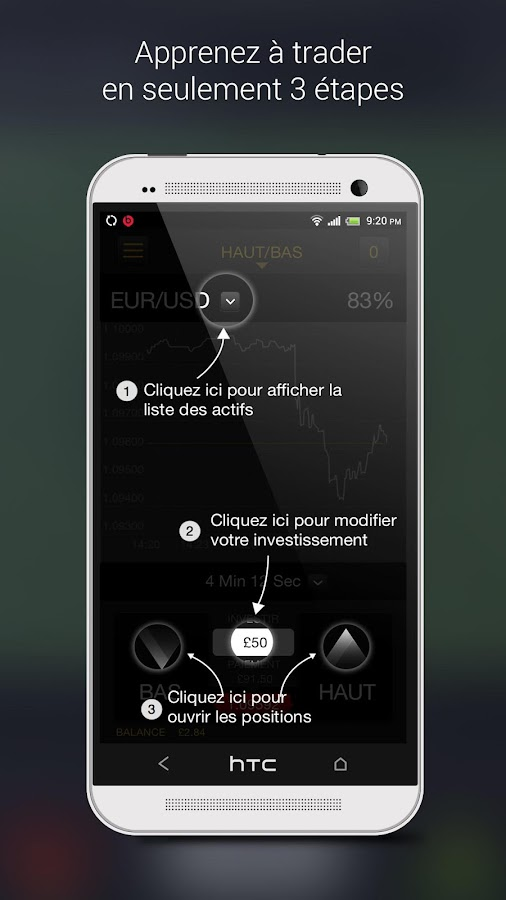 24option - options binaires – Capture d'écran