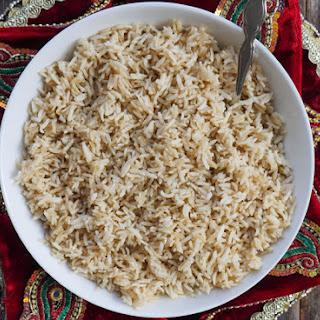 Instant Pot Brown Basmati Rice Recipe