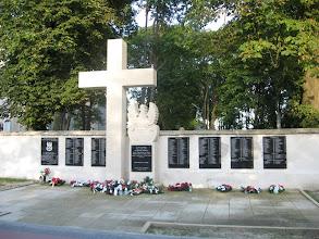 Photo: pomnik w Józefowie Roztoczańskim