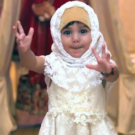 IMG_6815 by Ahsan  Niaz - Babies & Children Children Candids ( niceexpressions, cuteness, cute baby, cute girl, portaritofgirl, smile, cute, portrait, wedding party )