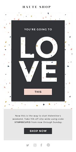 You're Going to Love This - Valentine's Day item