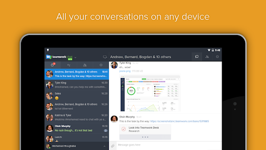 Teamwork Chat screenshot 4