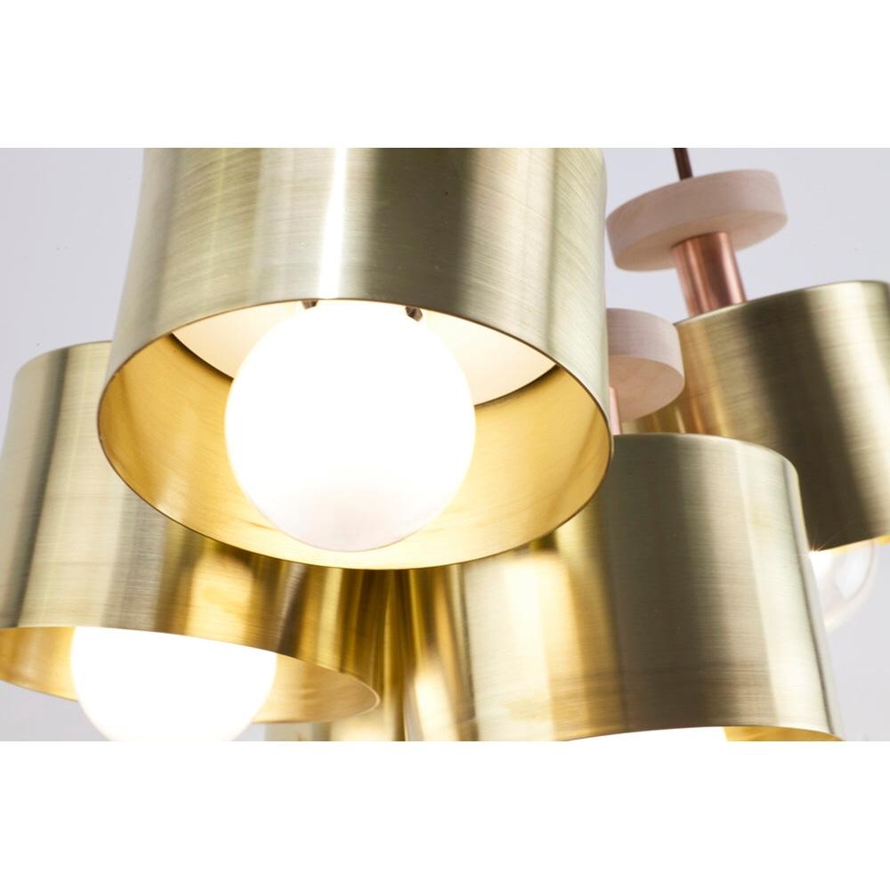 SPUN 5-LIGHT CLUSTER PENDANT LIGHT | DESIGNER REPRODUCTION
