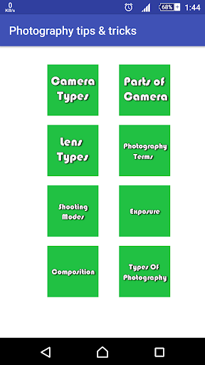 Photography tips tricks