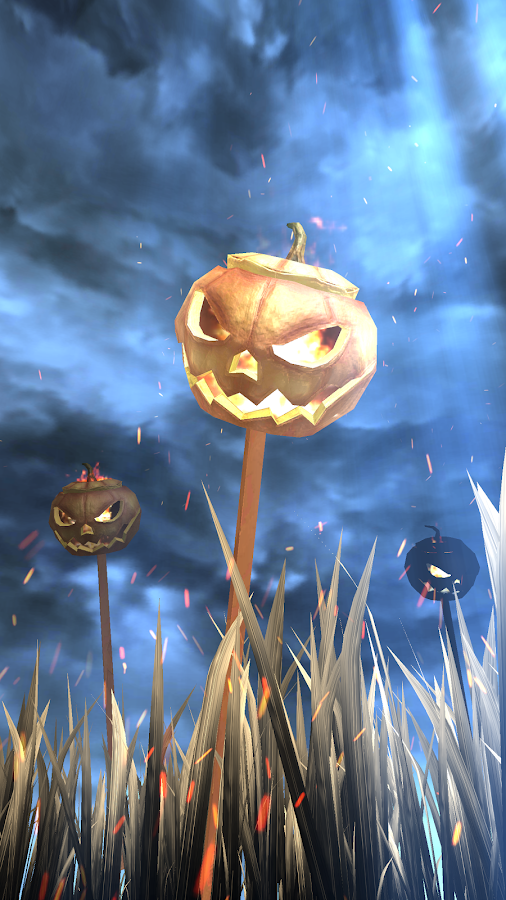 3D Pumpkins Grass FREE- screenshot