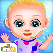 Babysitter Daycare Activities: Baby Care Kids Game
