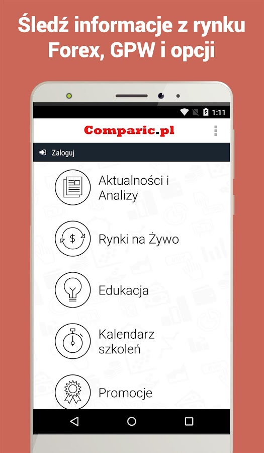 Aplikacja forex na android