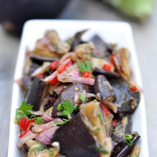 Thai Aubergine (Eggplant) Salad