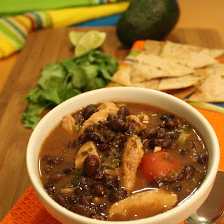 Chicken and Black Bean Soup.
