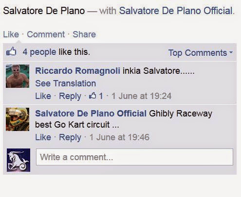 Photo: Salvatore De Plano – سلفادور دى بلانو - After driving on Ghibli's Circuit -:)