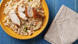 Pollo con arroz.