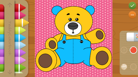 Teddy Colorbook: Coloring Book for Kids & Toddlers - náhled