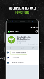 Call & Email- screenshot thumbnail