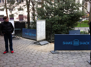 Photo: No Line at Shake Shack on a Sunday? Unbelievable