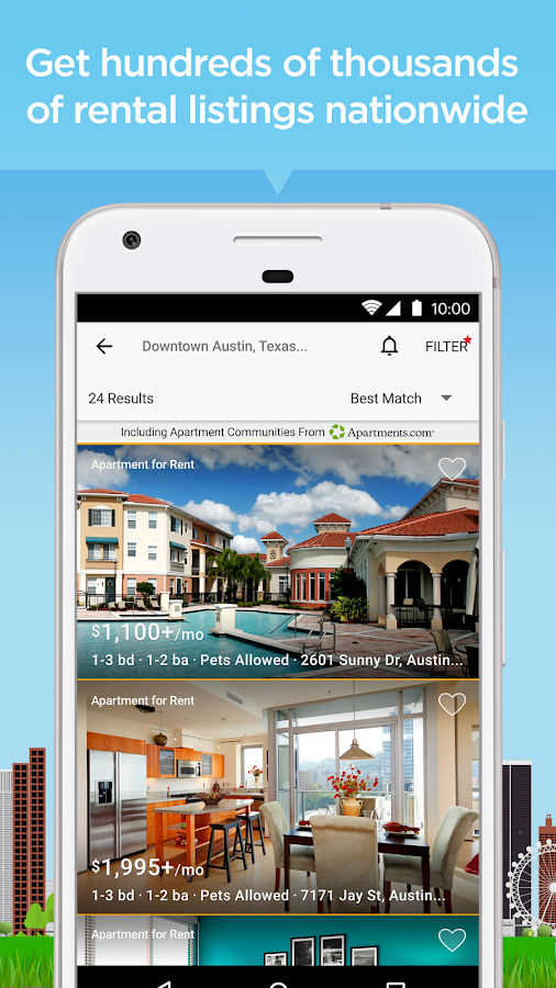 Apartment & Home Rental Search- screenshot