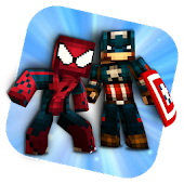 Superhero Skins for Minecraft
