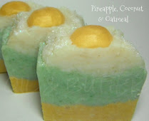 Pineapple, Coconut & Oatmeal Soap