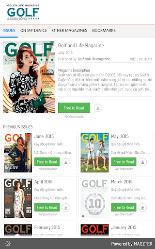 Golf and Life Magazine