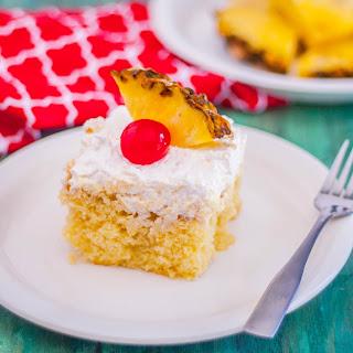 Pina Colada Cake.