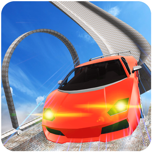 Mega Ramp Speed Car Racing Simulator