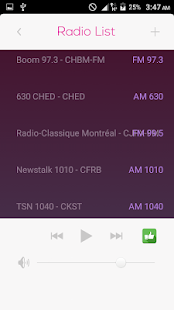 All Radio Canada FM in One - náhled