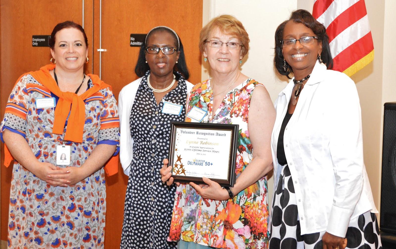 Lynne Robinson 35,000 Hours Award.JPG
