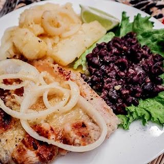 Cuban Mojo Pork Chops and Yuca Recipe