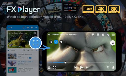 FX Player - video player and stream, chromecast Apk 1