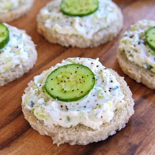 Cucumber Rye Tea Sandwiches from The Help