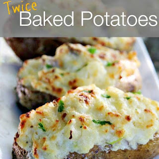 Twice Baked Potatoes #GayLeaFoods