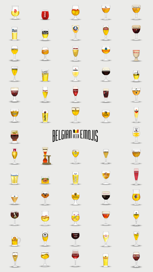 Belgian Beeremojis- screenshot